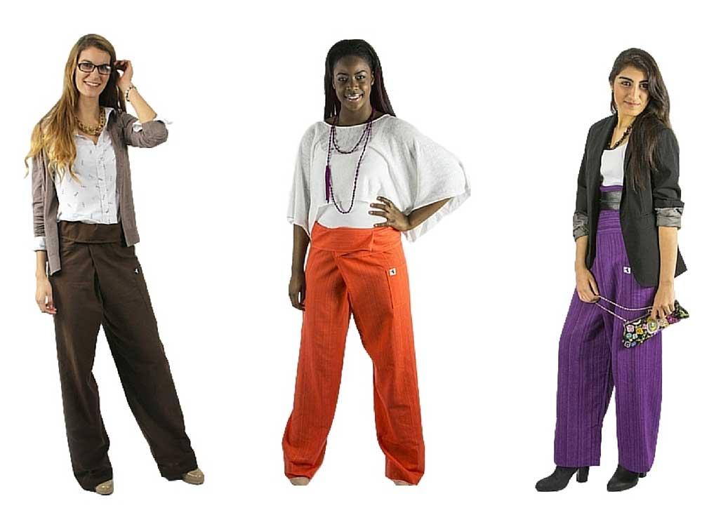Quelques idées de vêtements a porter avec le pantalon thaï